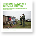 Hurricane Harvey and Equitable Recovery